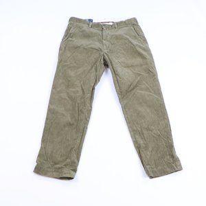 Ralph Lauren Pant Flat Front Corduroy Chino Pants